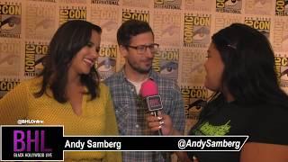 Melissa Fumero & Andy Samberg | Brooklyn Nine-Nine | SDCC 2019