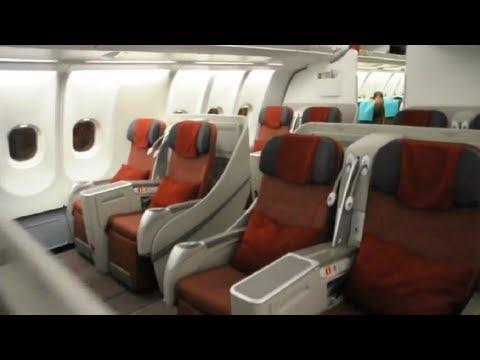 Airbus A330-200 Boarding Garuda Indonesia
