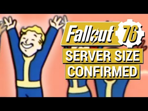 FALLOUT 76: Server Size CONFIRMED in Fallout 76!! (NEW Multiplayer Events and Group Quest Details)