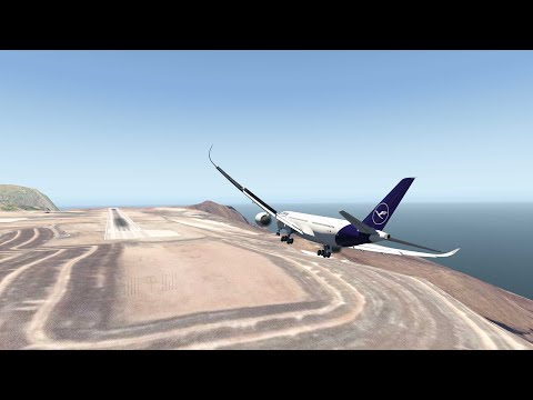 Heavy Crosswinds At St. Helena Airport