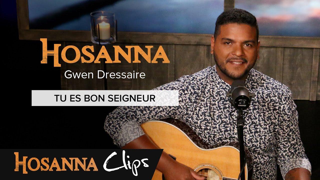 Tu es bon Seigneur - Hosanna clips - Gwen Dressaire