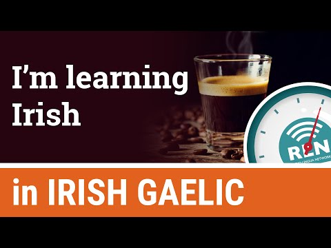 How to say you're learning Irish - One Minute Irish Lesson 5