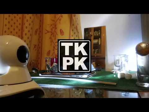 Télékinésie - Aluminium sur table à distance par caméra IP