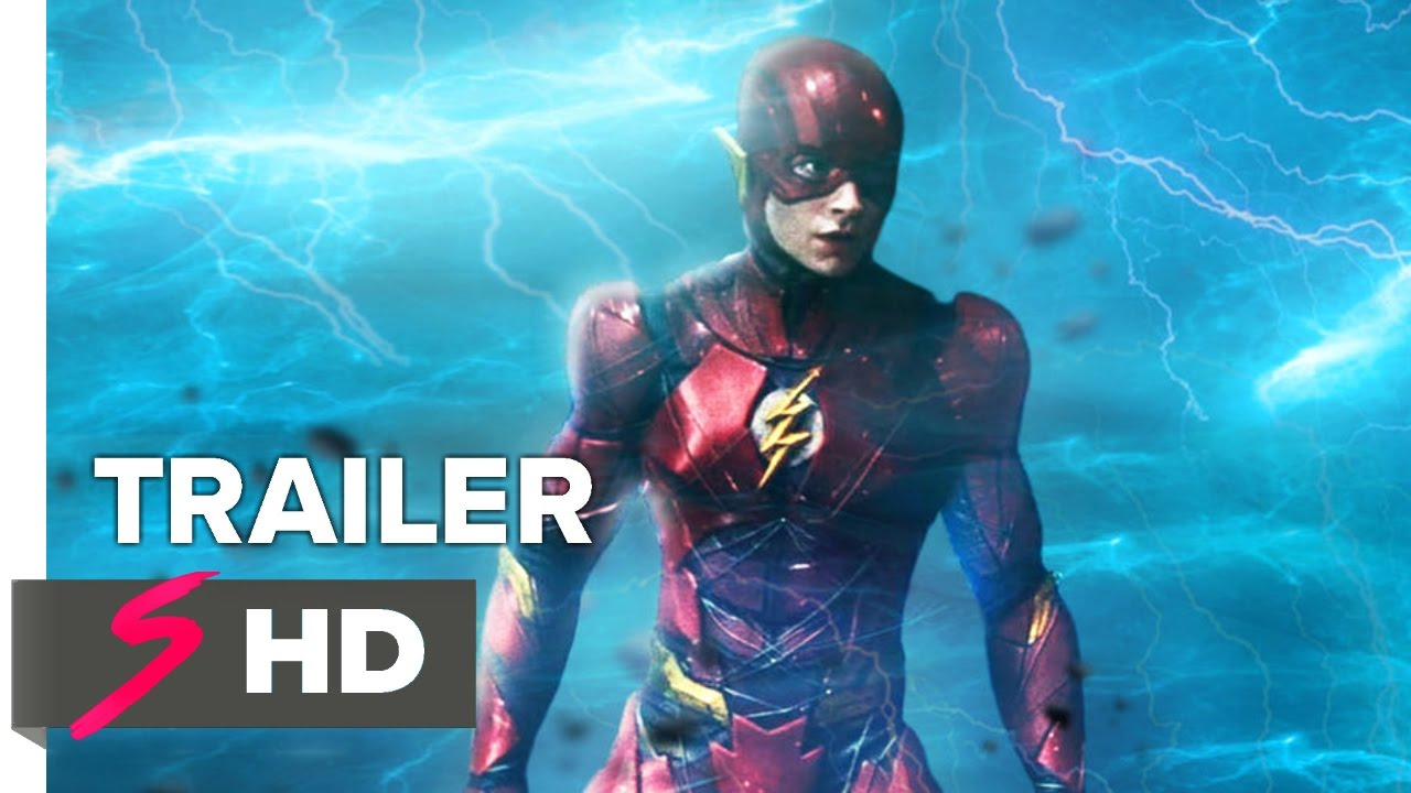 the flash 2018 ezra miller teaser trailer hd fan made