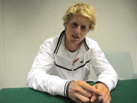Luke Saville - 2011 Wimbledon Boys' Champion Interview