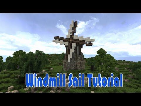 Minecraft: Windmill Sail Tutorial