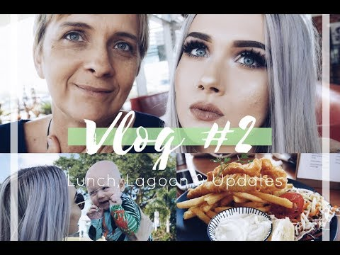 Vlog #2 | LUNCH, LAGOON & UPDATES | Ashleigh May