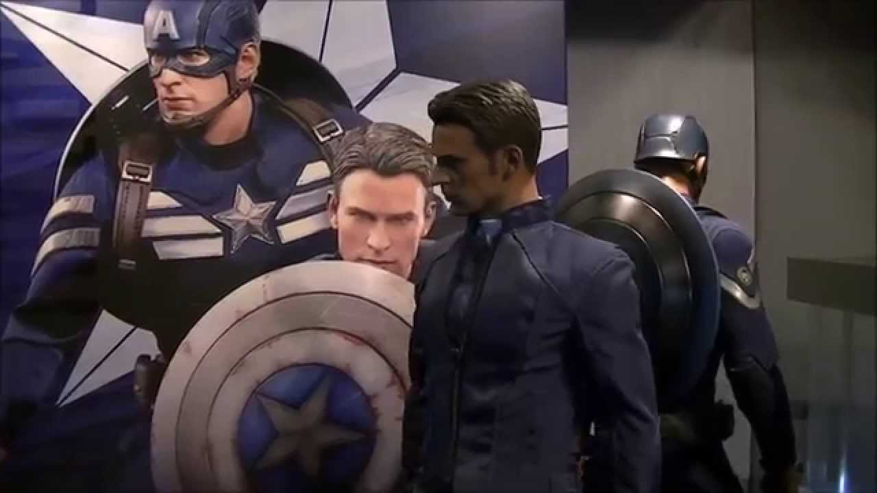hot toys captain america stealth strike suit amp steve