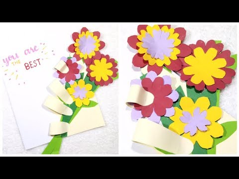 DIY Card Tutorial/Friendship Day Greeting Card/Handmade Card Tutorial/DIY Gift Ideas for Best Friend