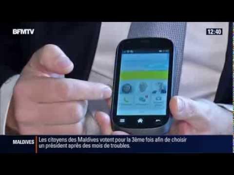 Reportage sur le Doro Liberto® 810 sur BFM TV
