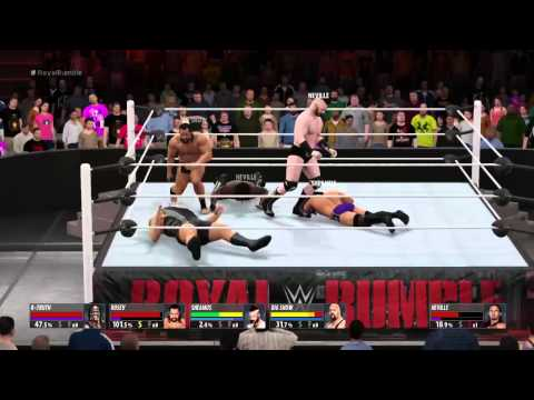 2015 Royal Rumble Simulation