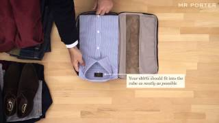 How To Pack With Tumi | MR PORTER
