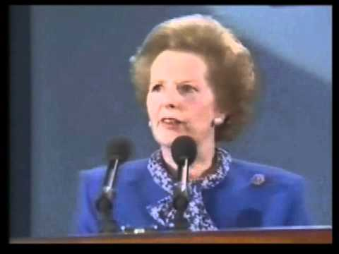 Margaret Thatcher European Election Rally 1989 Part 2 Of 2