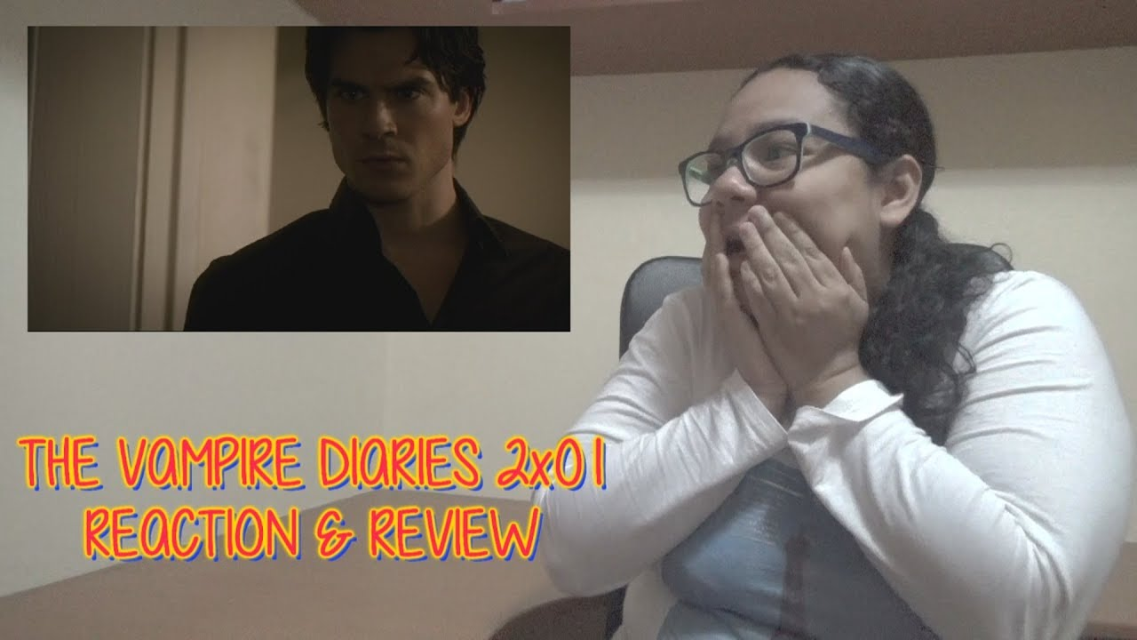 """Download The Vampire Diaries 2x01 REACTION & REVIEW """"The Return"""" S02E01 