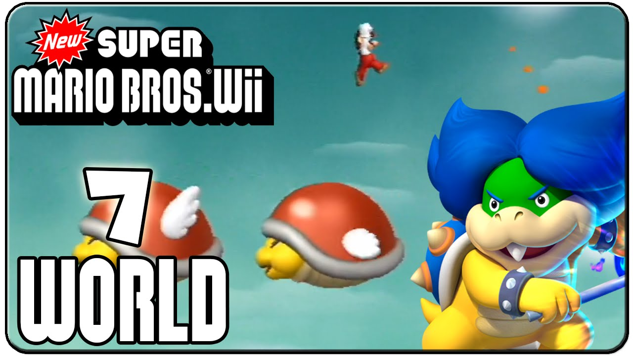 how to get to world 7 in super mario ds