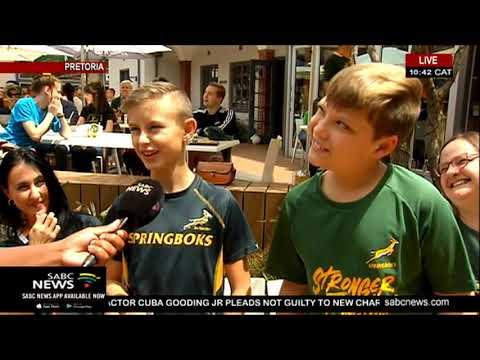 RWC Final | Pretoria rugby fans back the Boks