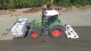 Walzenzug vs. Stehr Plattenverdichter SBV 160-3 mit Wassertechnik
