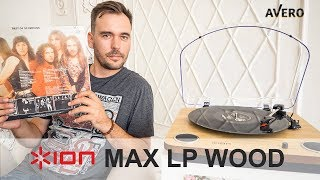 видео Виниловый проигрыватель ION USB Max LP