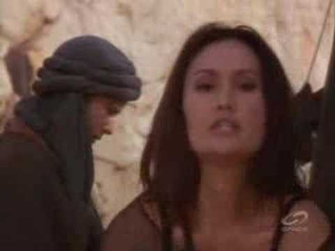 Tina Carrere/Sydney Fox in chains & cage - YouTube
