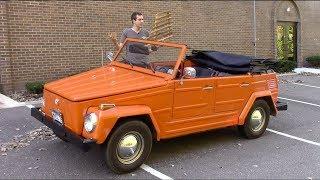 Volkswagen Thing - медленная, старая, небезопасная... и потрясающая