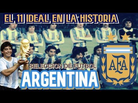 el-11-ideal-en-la-historia-de-la-selecciÓn-argentina-de-futbol