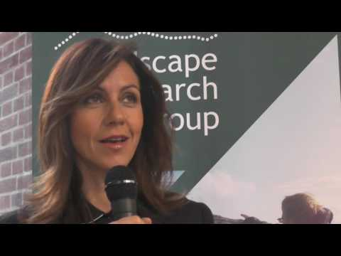 Julia Bradbury with Jay Appleton at the Royal Geographical Society