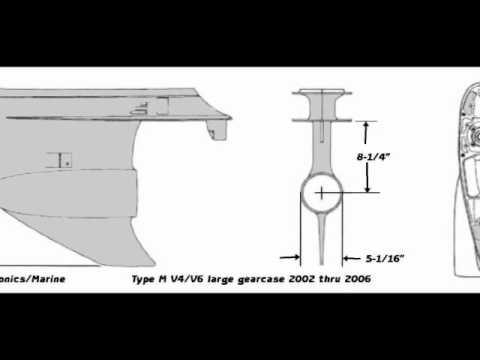 Johnson outboard lower unit identification
