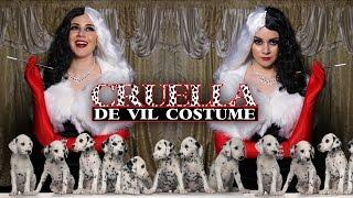 DIY Easy Halloween Costume: Cruella De Vil || Lucykiins