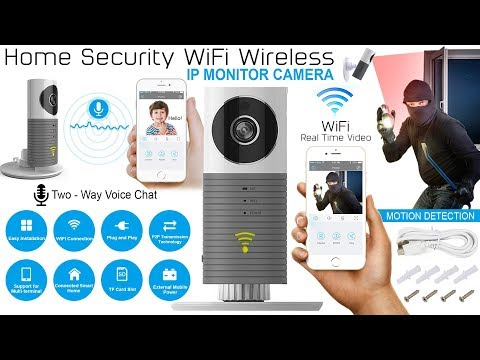 How To Use Clever Dog WiFi Wireless IP HD 720P Monitor Home Security Night Vision Camera