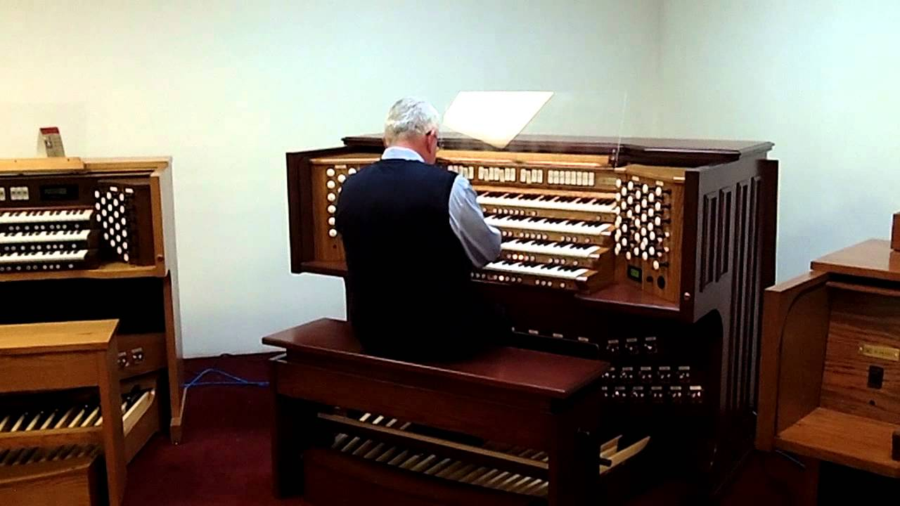 New Rodgers 4 manual Masterpiece organ