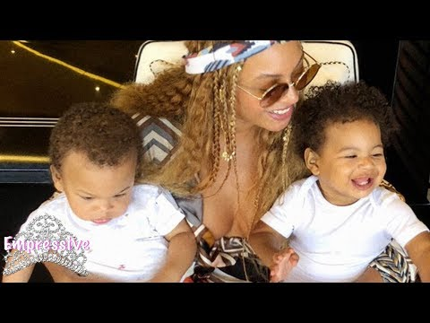 Beyonce shares new pictures of her twins Sir and Rumi Carter