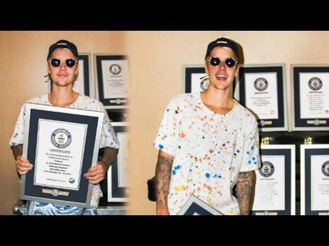 Justin Bieber Breaks 8 Guinness World Records for Purpose