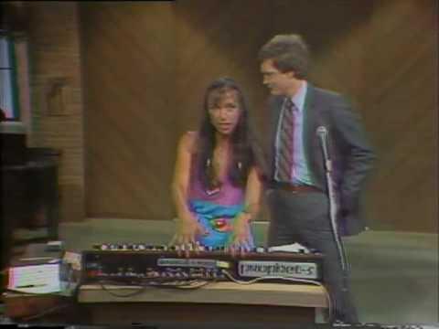 Ciani on Letterman Show
