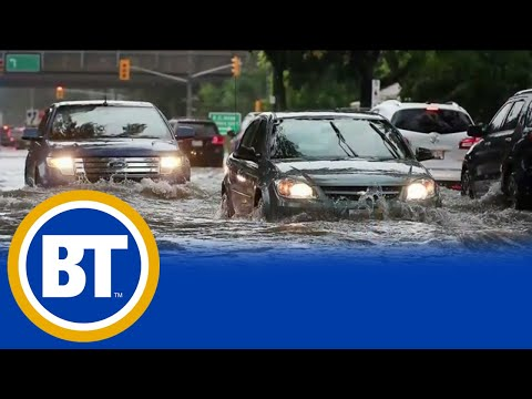 Windsor gets hit with record rainfall, flooding homes and streets