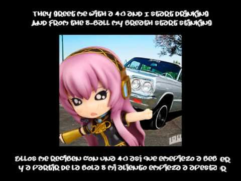 (ENG-LYR + SUB-ESP + MP3) Boyz n the Hood (Megurine Luka)