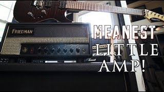 The Meanest Little Amp! Friedman JJ Jr Demo.