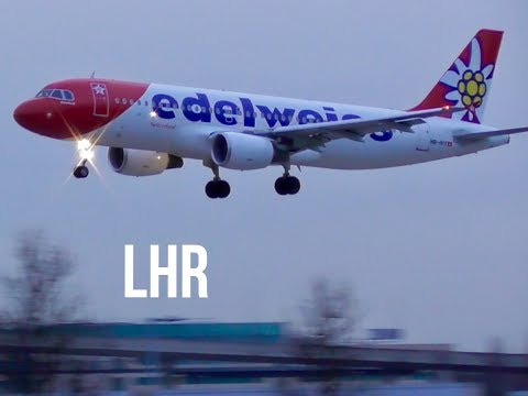 Plane Spotting *Evening Arrivals & Departures* RW09L &R London Heathro Airport, LHR 🛩✈️