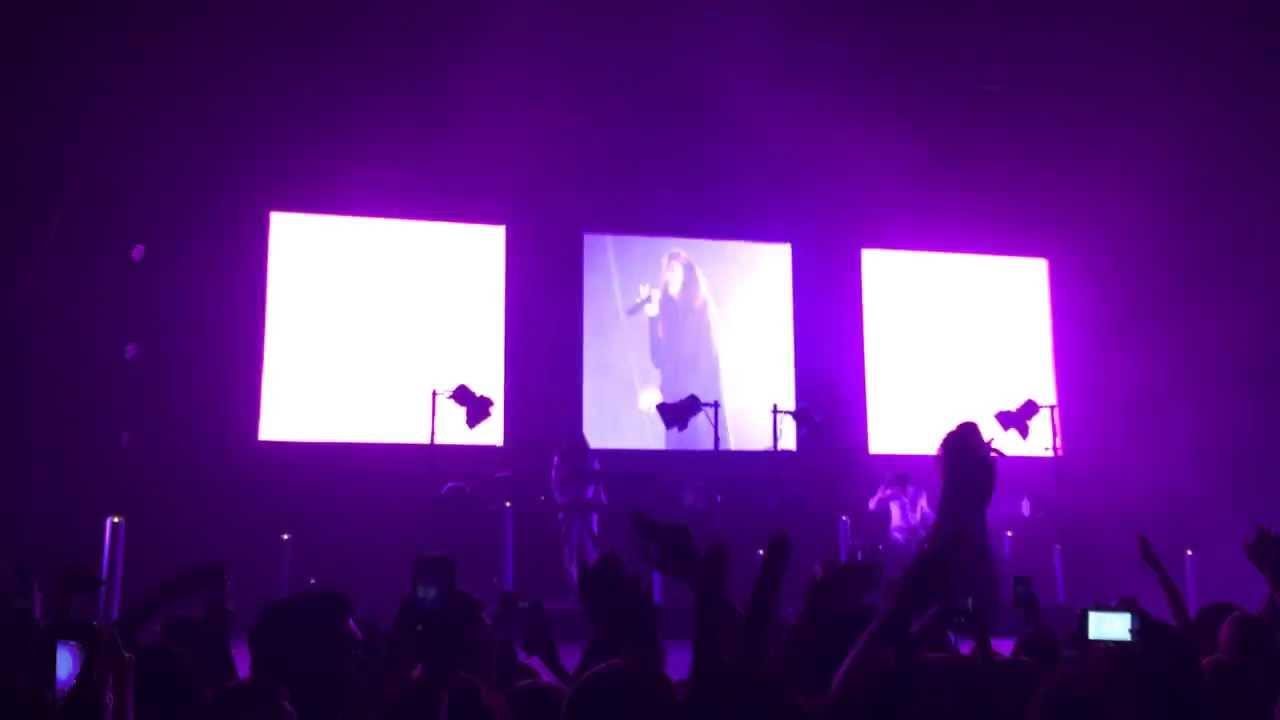 Lorde - Team Live HD - YouTube