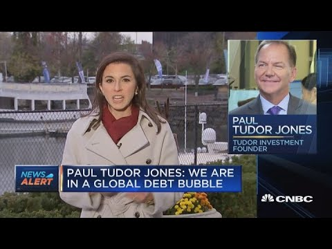 Paul Tudor Jones: We are in a global debt bubble