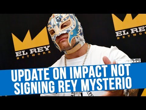 Update On IMPACT Wrestling Not Signing Rey Mysterio