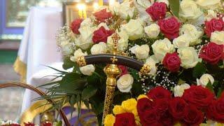 Прощание с настоятельницей Крестовоздвиженского женского монастыря игуменей Сергией (Алексеенко)
