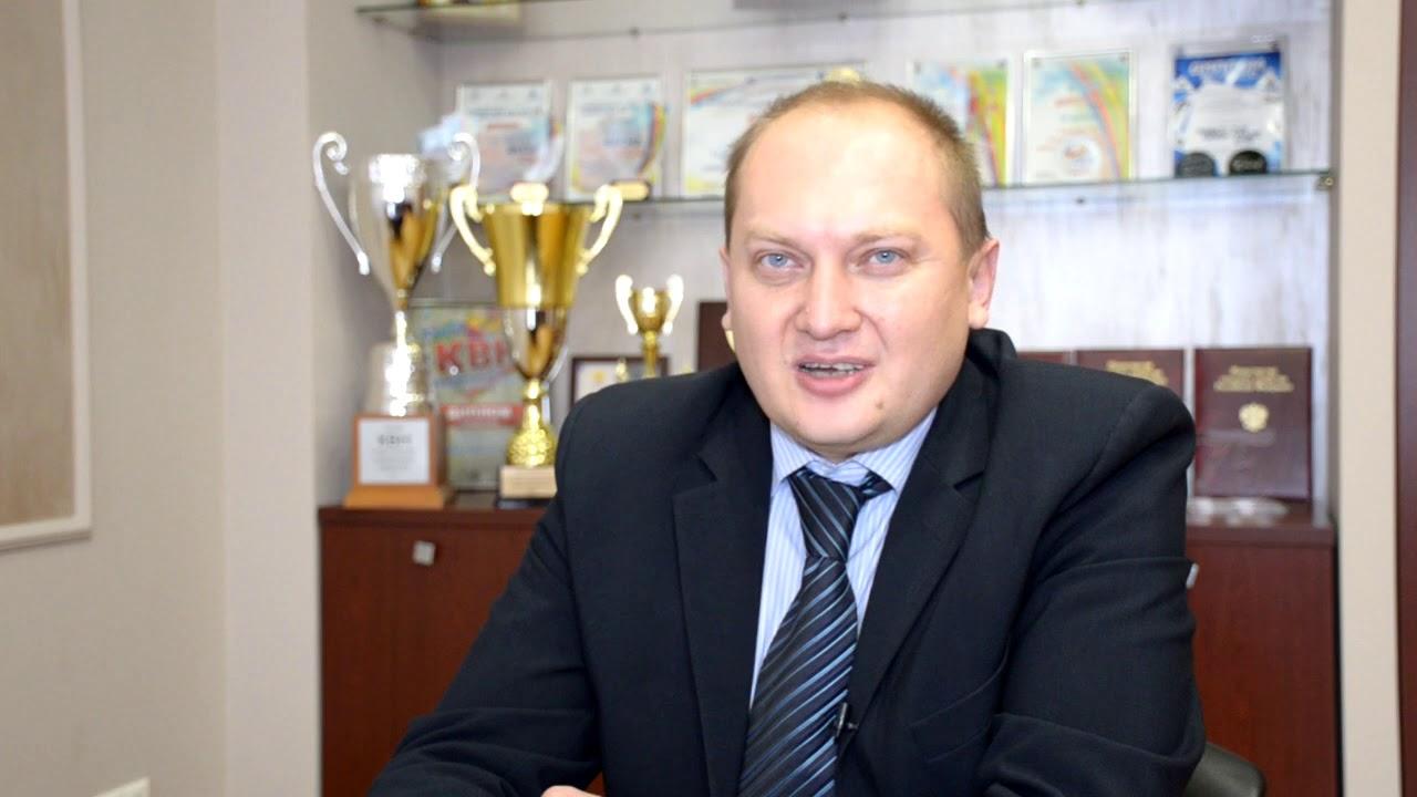 Поздравление Вятской ГСХА с юбилеем от врио ректора Самарского ГАУ Игоря Гужина
