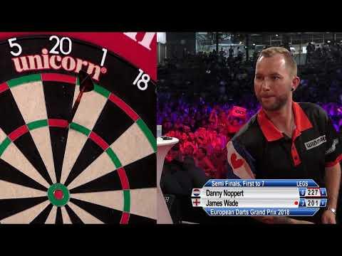 Danny Noppert v James Wade - SF - European Darts Grand Prix 2018