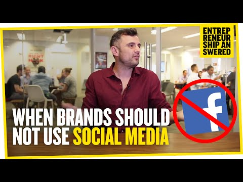 When Brands Should Not Use Social Media