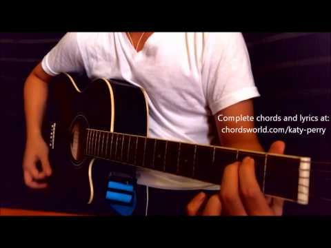 Unconditionally Chords by Katy Perry - How To Play - chordsworld.com
