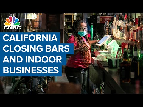 California to close indoor restaurants, movie theaters and bars ...