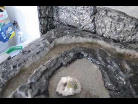 Bachlauf selber bauen bachlauf selber for Styropor pool hornbach