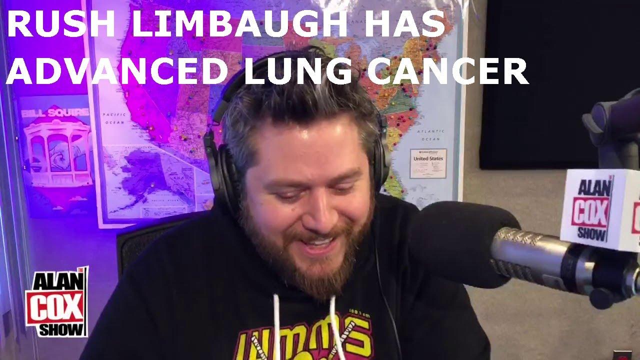 Rush Limbaugh Has Advanced Lung Cancer