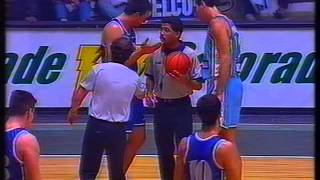 Uruguay Campeón América Basket 1995 Vs. Argentina