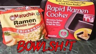 Bowlsh!t - The Rapid Ramen Cooker